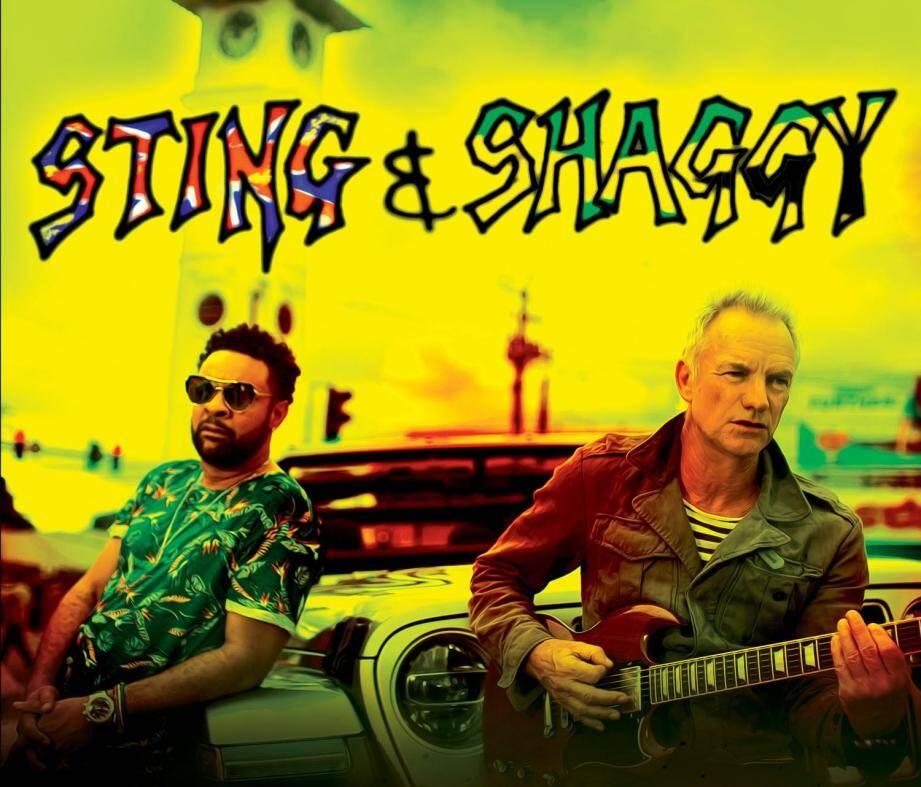 Sting et Shaggy, les Brigitte, Hyphen Hyphen et Beth Ditto !