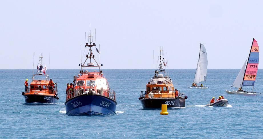 « Tous en mer pour les sauveteurs », c'est samedi dans toute la France, et surtout à Saint-Laurent-du-Var. L'été dernier, à l'occasion des 50 ans de la SNSM, des démonstrations et une parade avaient été organisées au large du Cros-de-Cagnes.