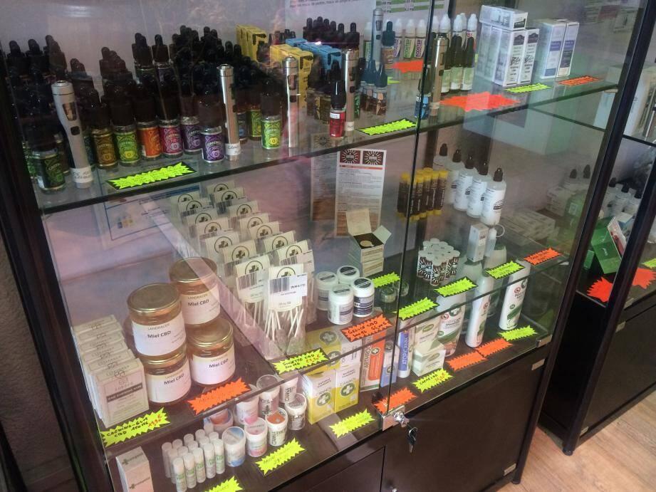 Miel, sucettes, e-liquides, produits cosmétiques, contenant moins de 0,2 % de THC... Ce n'est pas illégal. Mais la loi reste très floue sur le sujet.