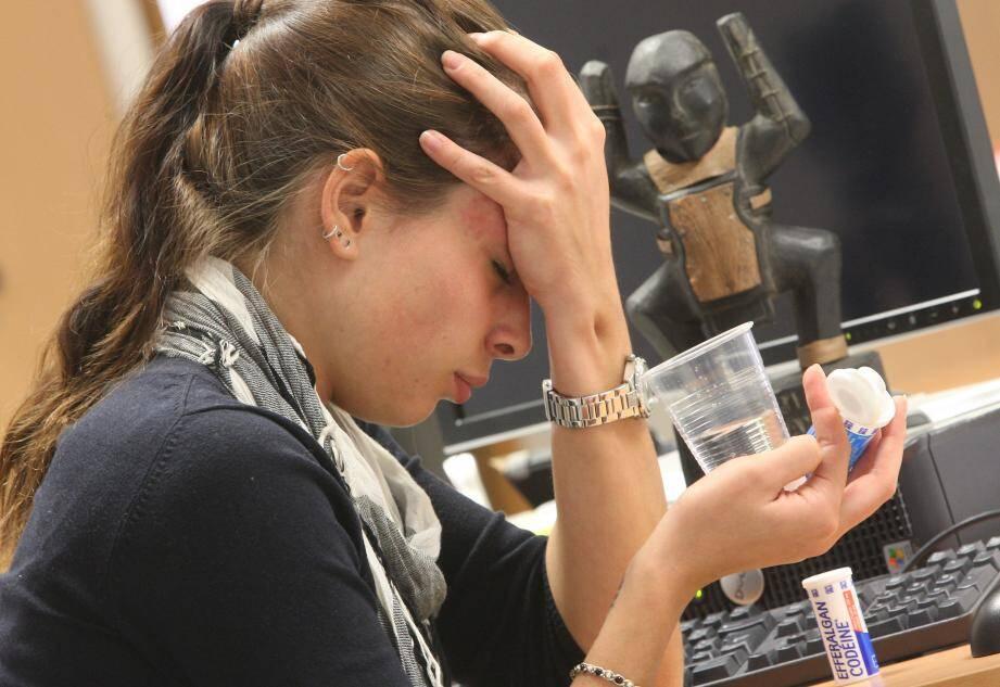 « Certaines douleurs sont ancrées dans la tête de nombreuses femmes », par exemple d'éventuelles migraines liées aux menstruations.