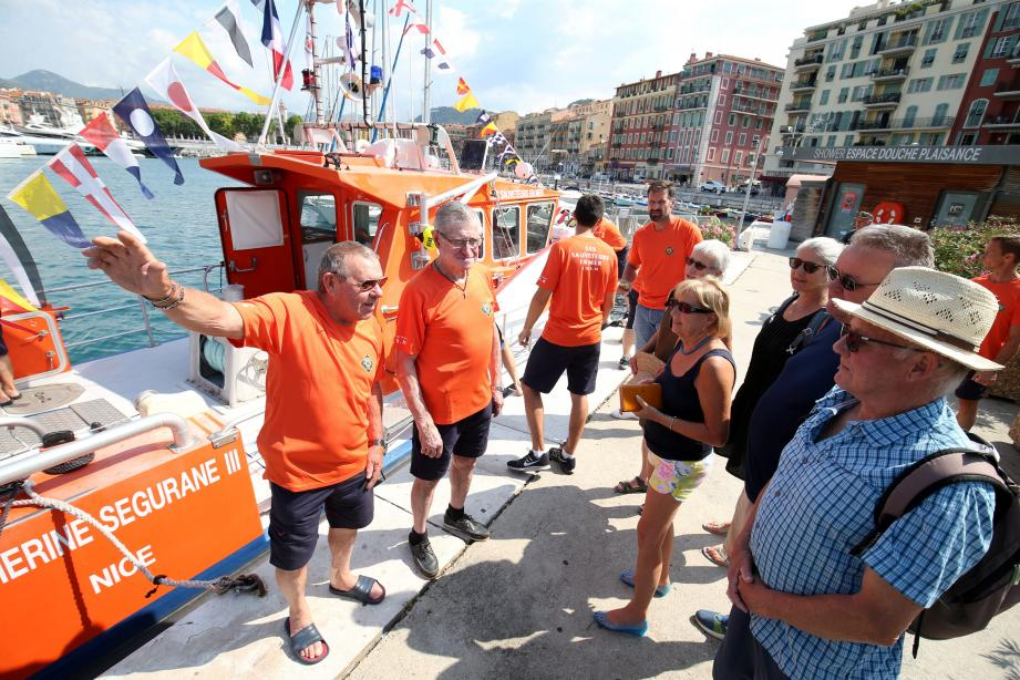 À Nice, le soleil était au rendez-vous, tout comme les hommes en orange de la SNSM, toujours au chevet des usagers de la mer.