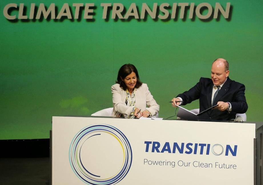Le Transition Monaco Forum a été le cadre de la signature d'un engagement entre le C40 et le CIO pour l'organisation de Jeux Olympiques résolument durables.