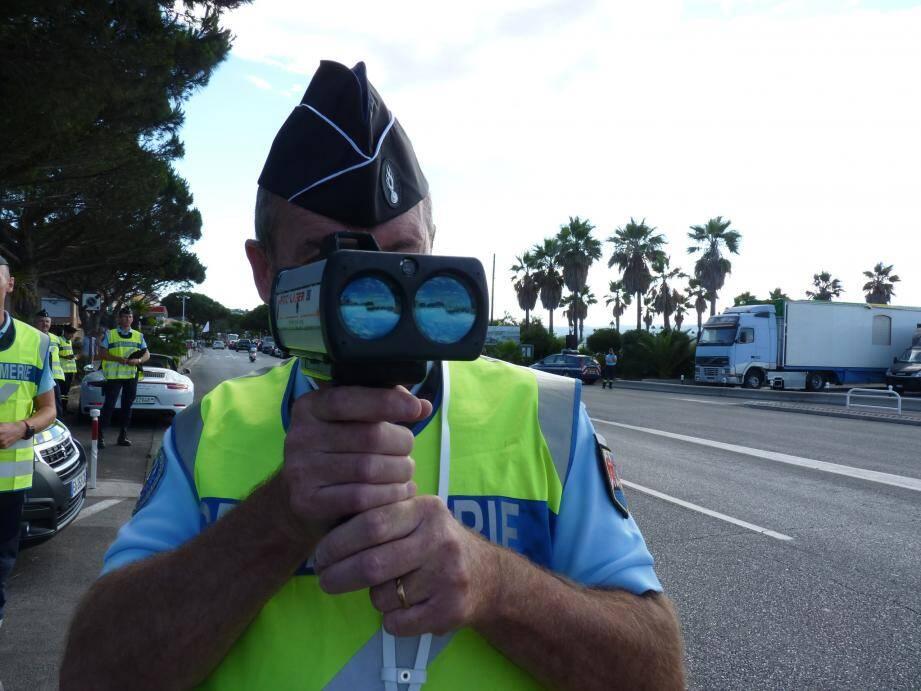 Un contrôle routier coordonné a été mis en place ce vendredi à Grasse.