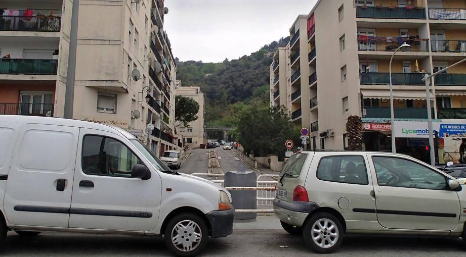 L'impasse des Liserons, haut-lieu niçois des trafics en tous genres.