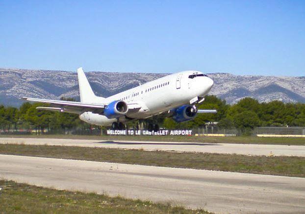 L'aéroport du Castellet est prêt à recevoir des avions en provenance des Etats-Unis, de Russie et du Royaume-Uni à l'occasion de Grand Prix de F1.