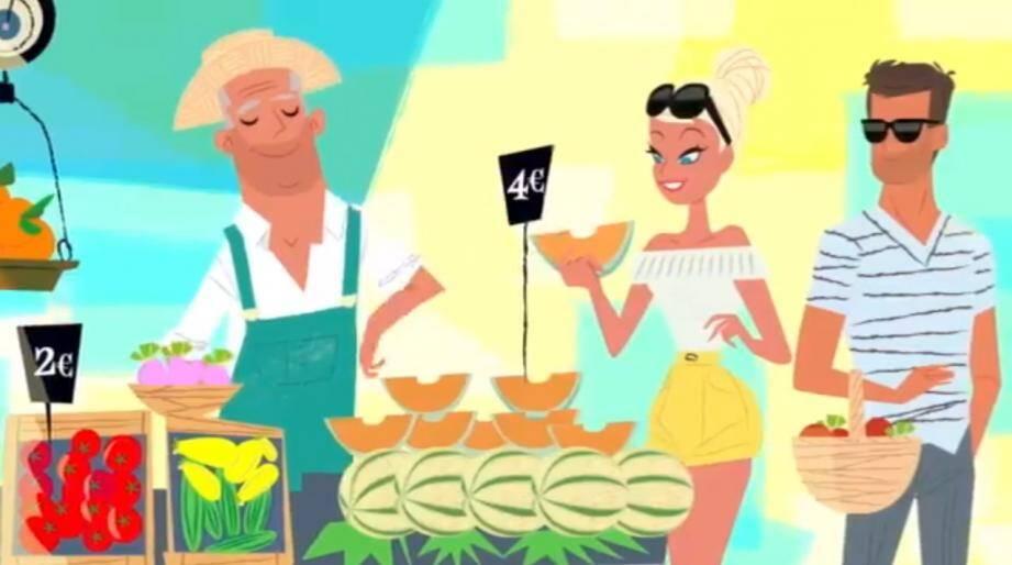 La Métropole a confié à l'illustrateur de Carqueiranne Monsieur Z, la réalisation d'un clip vidéo de promotion destiné aux réseaux sociaux. Le résultat, forcément très coloré, a été dévoilé ce mardi.