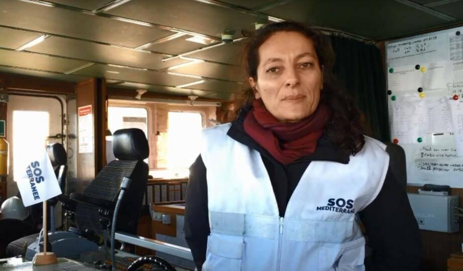 Sophie Beau, co fondatrice de SOS Méditerranée.