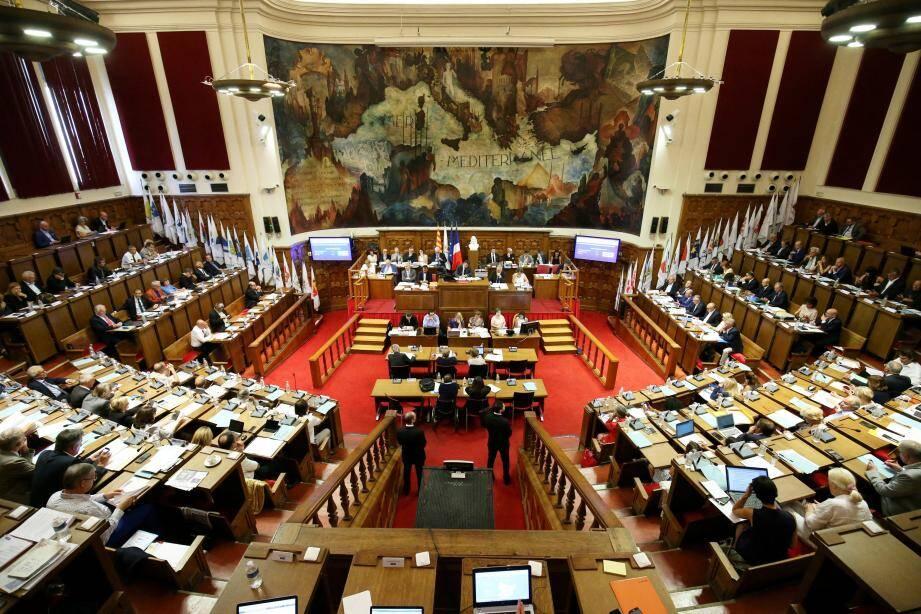 La séance du conseil métropolitain de ce jeudi n'a pu reprendre après la pause.