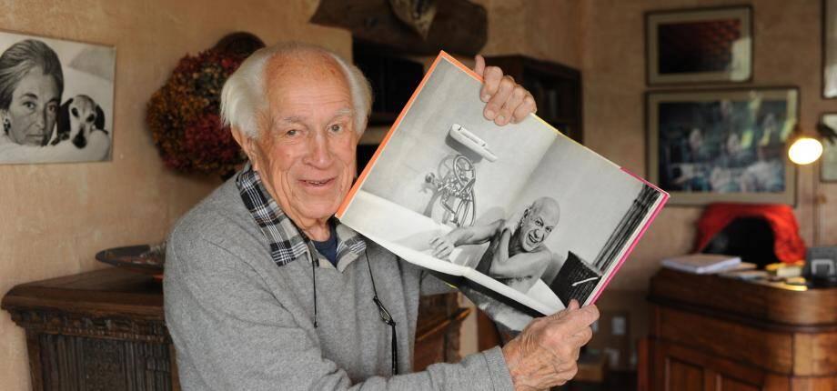 Le photographe américain David Douglas Duncan.