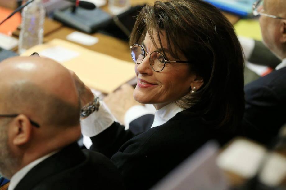 Dominique Estrosi-Sassone, Sénateur des Alpes-Maritimes et Vice-Présidente du groupe Les Républicains au Sénat.