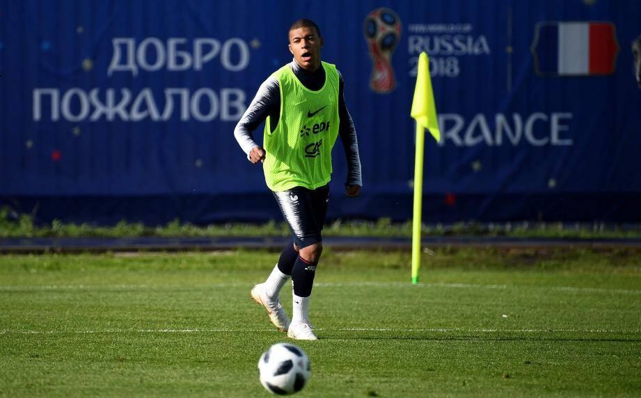 Kylian Mbappé a écourté son entraînement.