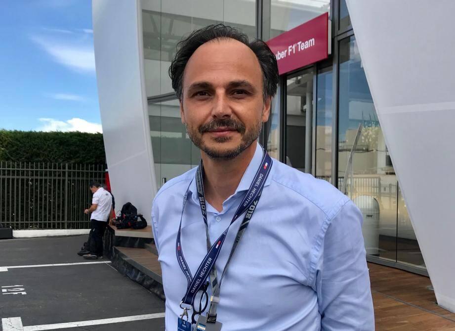 Nicolas Deschaux, président de la Fédération française du sport automobile.