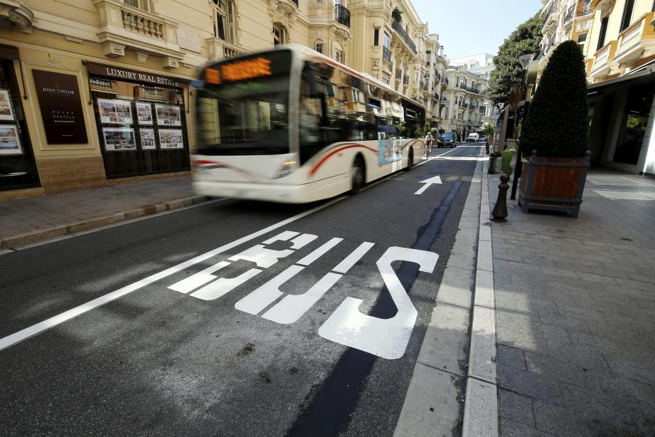 Les bus circuleront dans les deux sens du boulevard des Moulins, dès demain.