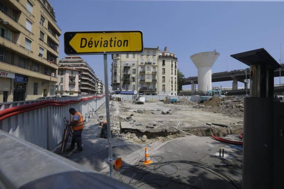 Outre les 32 logements et les 40 places de crèche, le square colonel Jeanpierre, rue Trachel à Nice, sera agrandi.