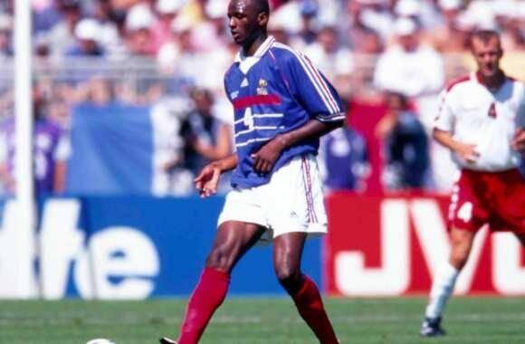 Patrick Vieira en équipe de France (1998).