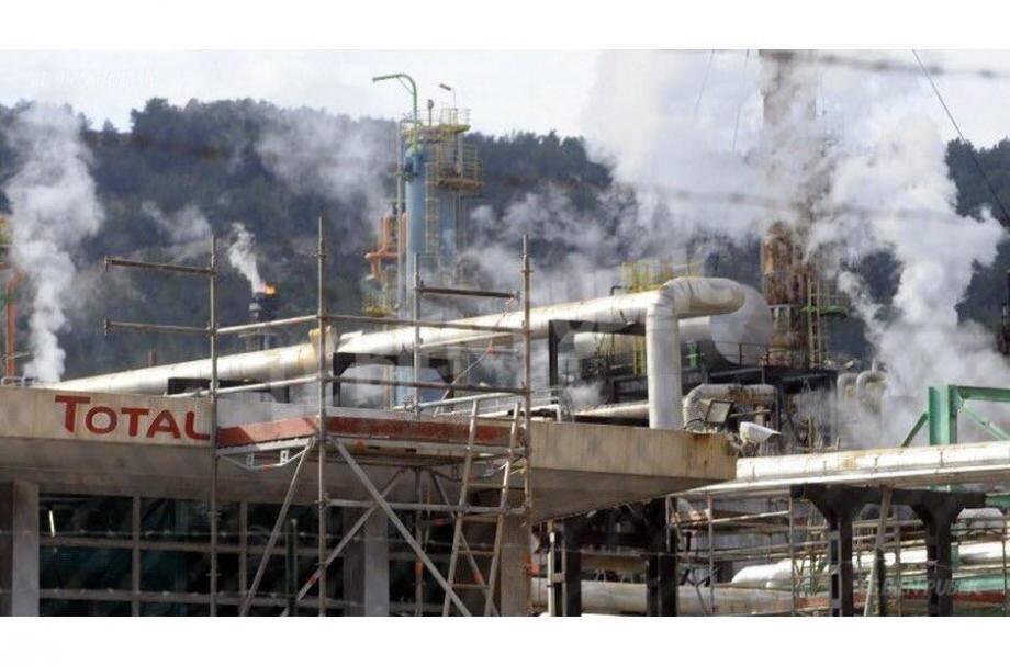 La raffinerie Total de La Mède, située dans les Bouches-du-Rhône.