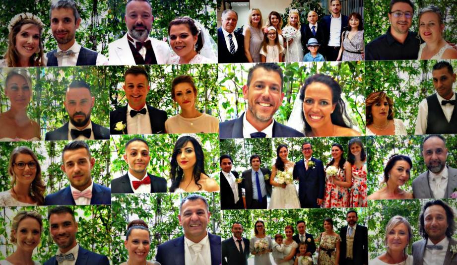 Seize couples se sont unis en mairie de Nice, ce week-end