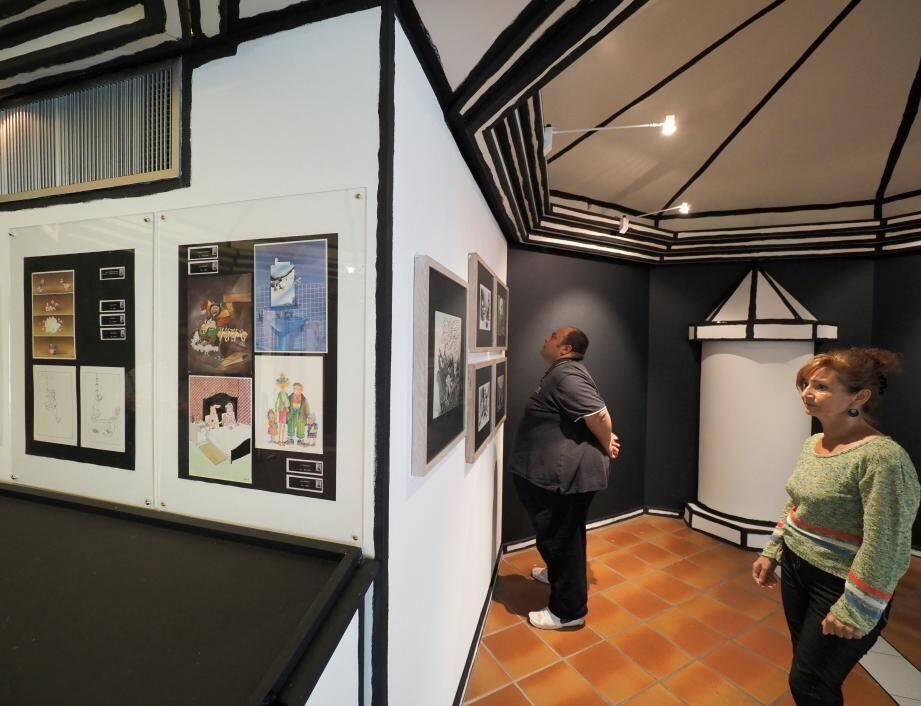 L'exposition se prolongera à Antibes jusqu'au 3 novembre.