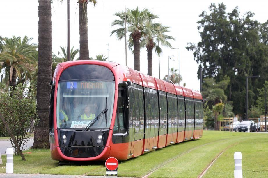 Dès samedi 14 heures, le tramway sera en accès libre.