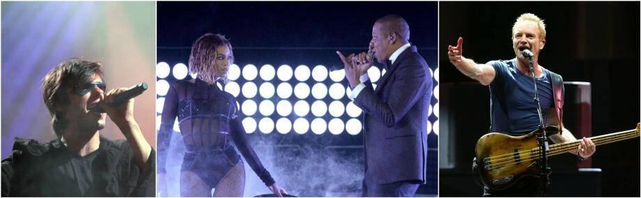 Orelsan, Beyonce, Jay-Z et Sting