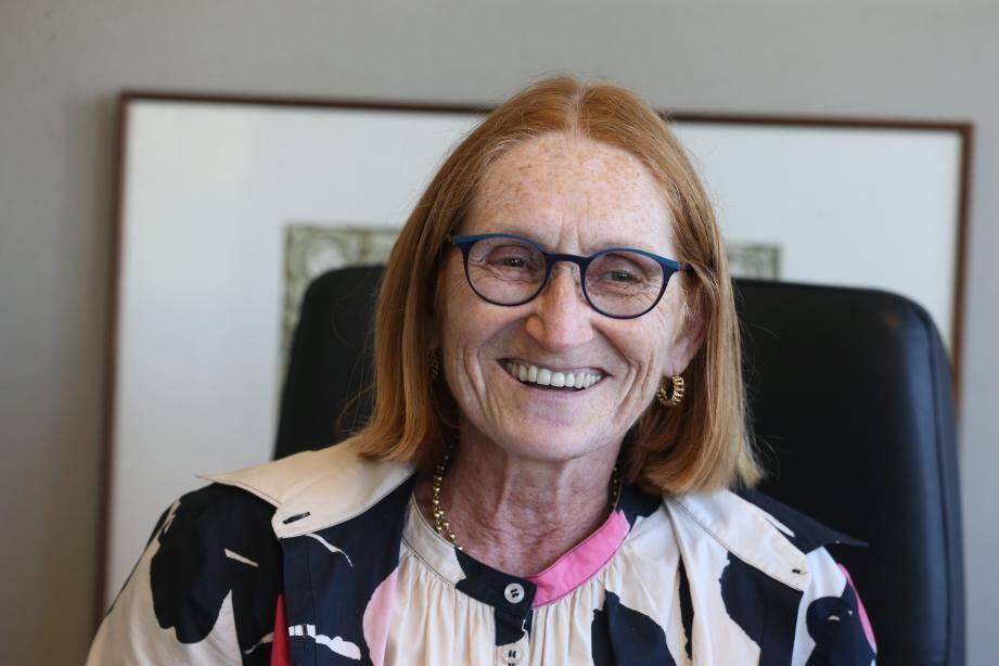 Laure Carladous, la nouvelle présidente de la Fédération du BTP06.