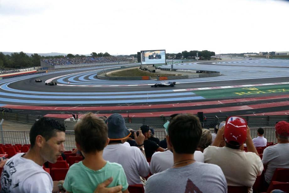 Le Grand Prix de France de Formule 1 sur le circuit du Castellet.