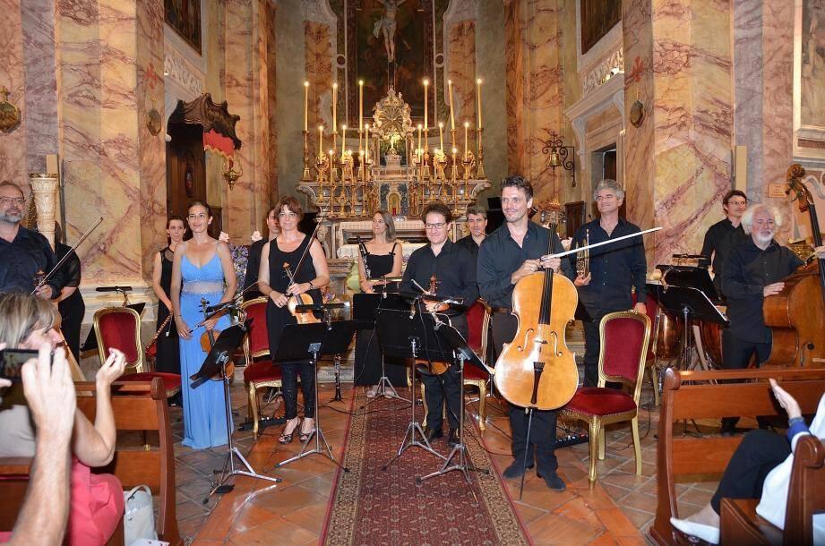 C'était en 2016, l'ouverture des Musicales du Trophée dans l'église Saint-Michel.