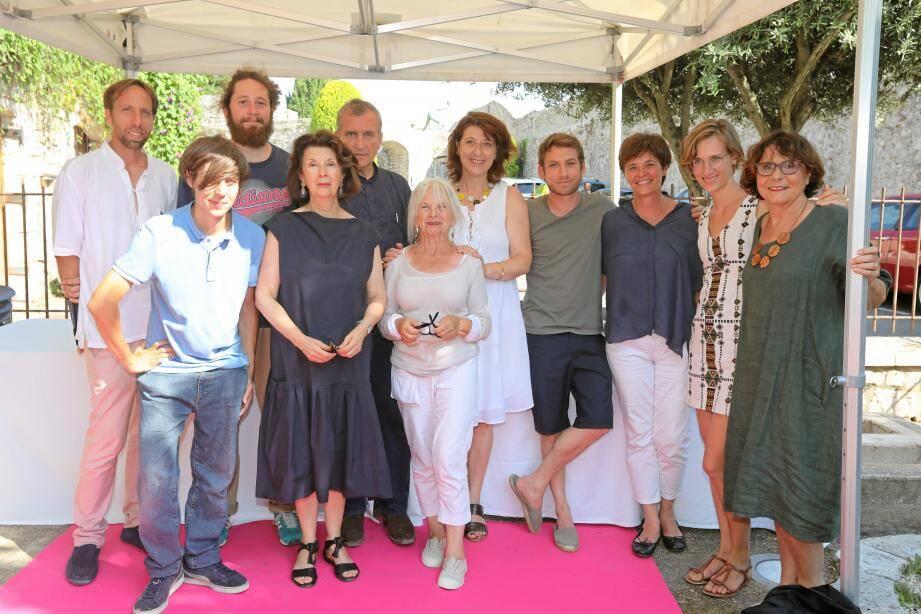 Les artistes primés dimanche exposent jusqu'au 31 août dans le village.