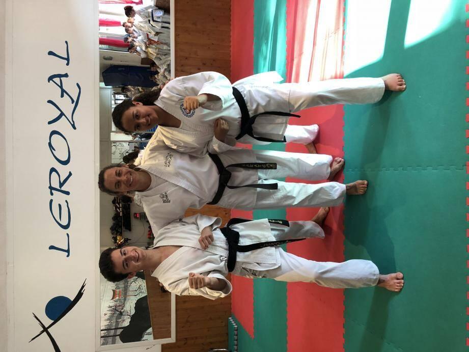 Nathalie Leroy peut être fière de ses élèves, Antoine Mangiapan et Syrine Ben Rejeb.(DR)