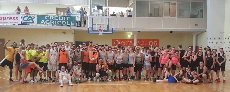 Une belle fin de saison avec les 14 heures de basket. (DR)