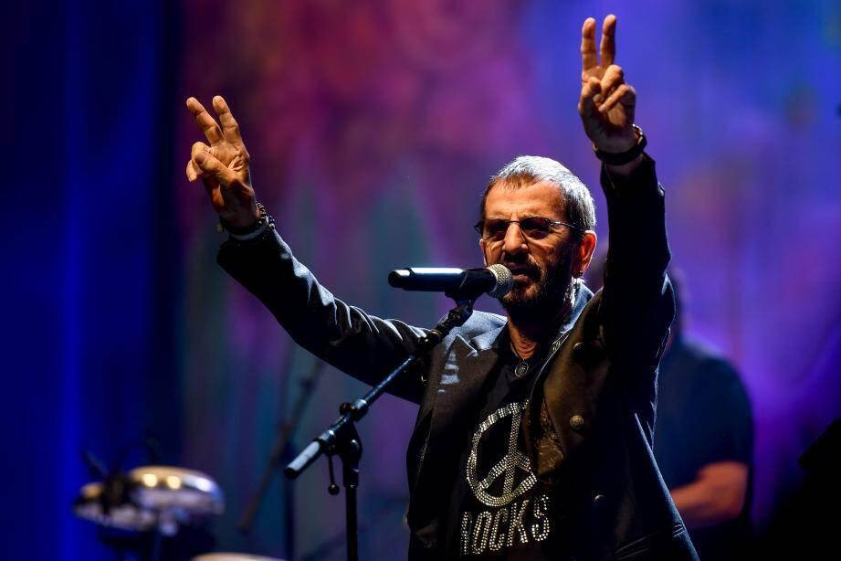 Sur la scène de l'Olympia à Paris le 6 juin dernier, Ringo donnait le coup d'envoi de sa tournée européenne qui fait escale ce vendredi en Principauté.