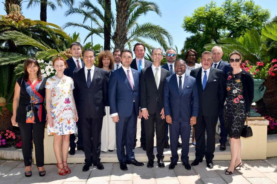 Les ambassadeurs des Seychelles, du Gabon, du Kazakhstan et du Portugal viennent d'être accrédités à Monaco.