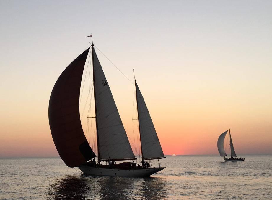 Sous le soleil du sud de la Méditerranée.