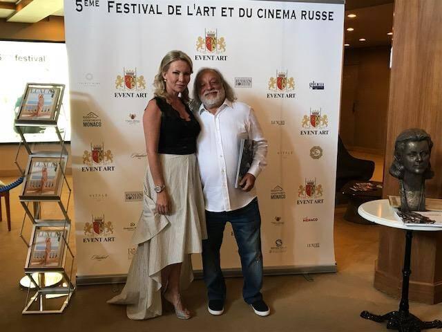 Marina Sytcheva a fait venir l'artiste Grégory Pototsky à l'occasion du festival.