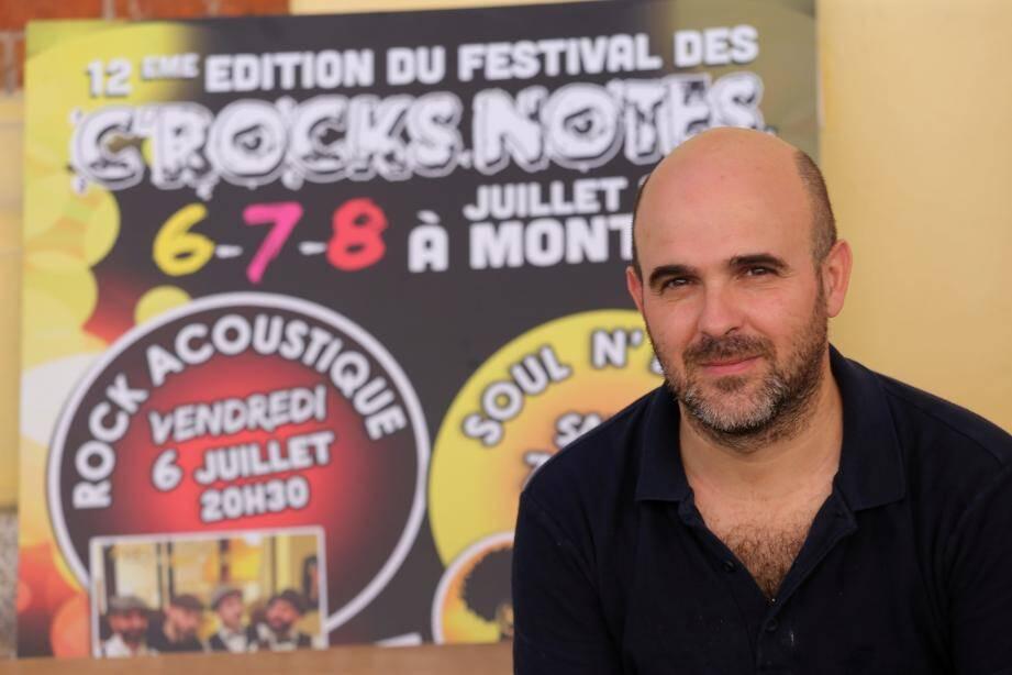 Frédéric Sini chantera ce soir en compagnie de Jean-François Marinacce et Jessy Moy.