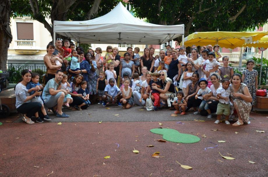Une belle fête avec les familles s'est déroulée au square Camille-Blanc.