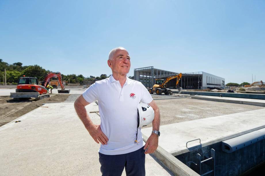 """Selon Michel Ducros, président fondateur de Monaco Marine qui a visité, avant-hier, le chantier seynois, le site sera """"un des plus grands chantier dédié à l'entretien des yachts de 50 mètres en Europe."""""""