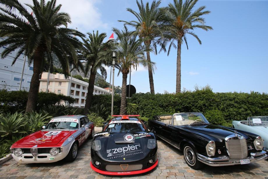 Les premiers modèles sont déjà exposés sur le parvis de Monte-Carlo Bay.