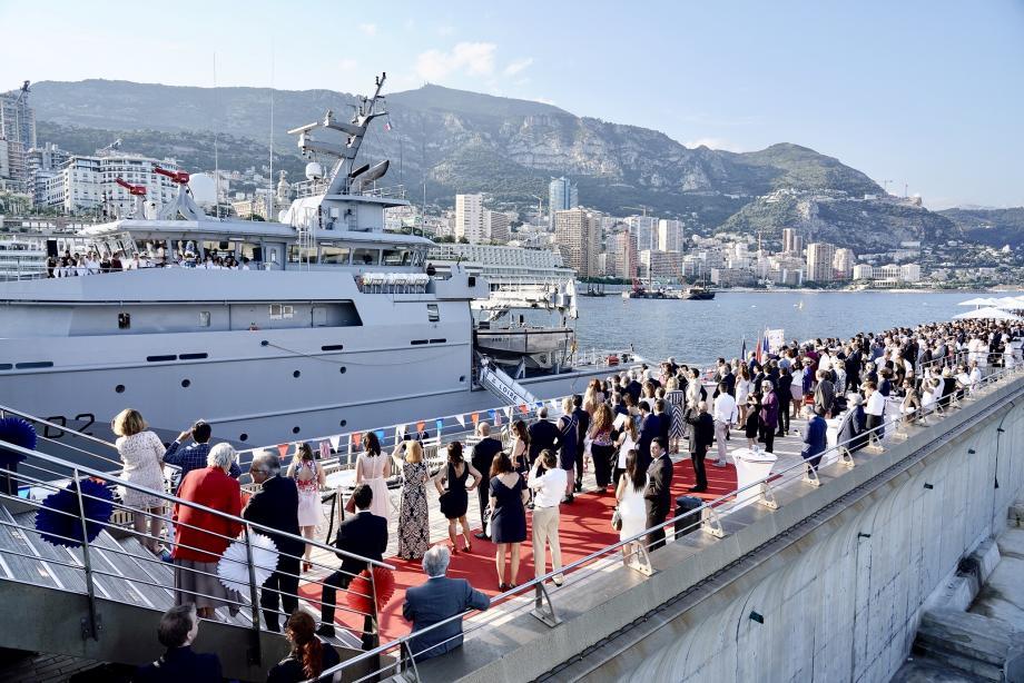 Quatre cents invités ont assisté à la cérémonie du 14-juillet organisée à l'Avant-Port.