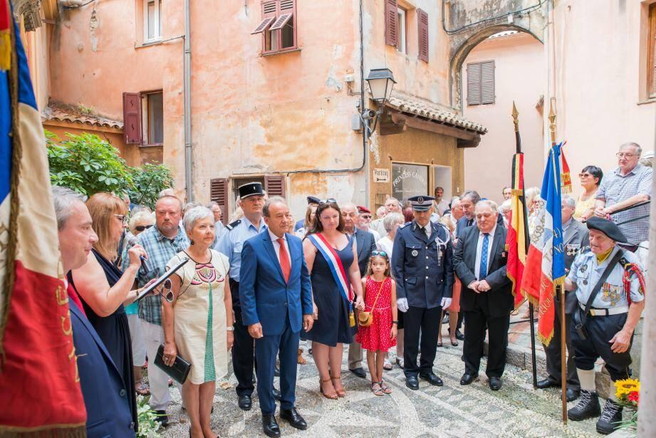 Le maire a salué l'action de la députée Alexandra Valetta-Ardisson.