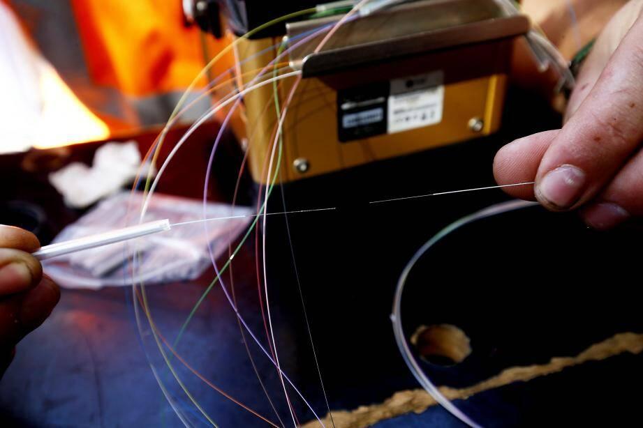 Encore un peu de patience pour les Mouginois qui devraient bénéficier de la fibre en 2020.