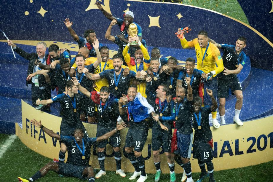 Les Bleus sont champions du monde.(Crédit_photo)