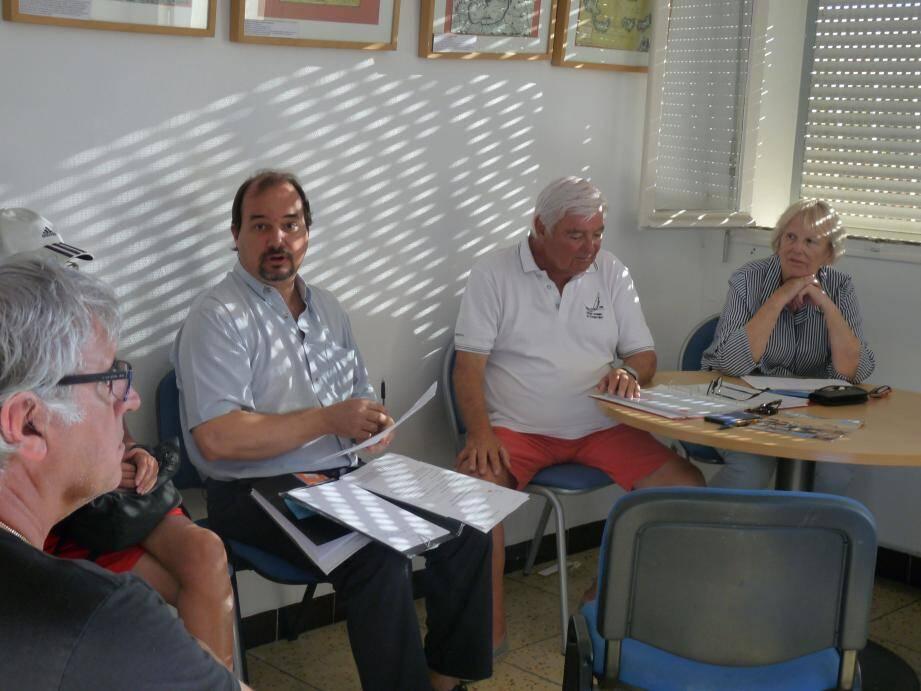 Frédéric Mari, responsable de la gestion foncière de la ville, a assisté à la réunion d'information de l'association des emphytéotes.