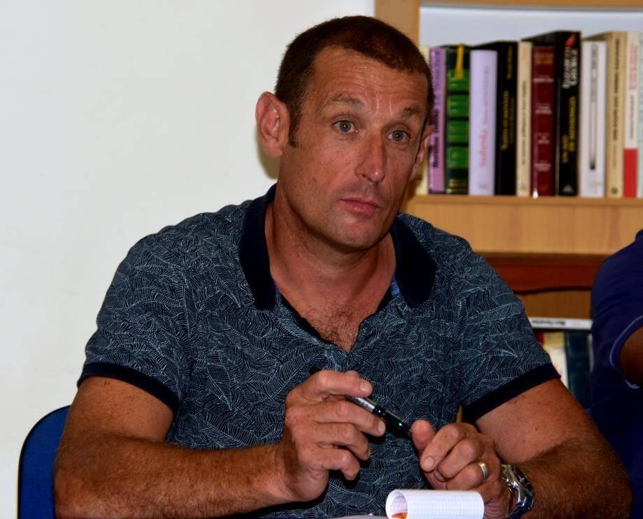 Olivier Cavatore, le nouveau président du RCP.