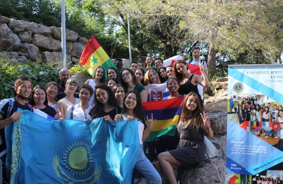 La session 2018 de l'Udel est présente à Sophia Antipolis.(Crédit photo)