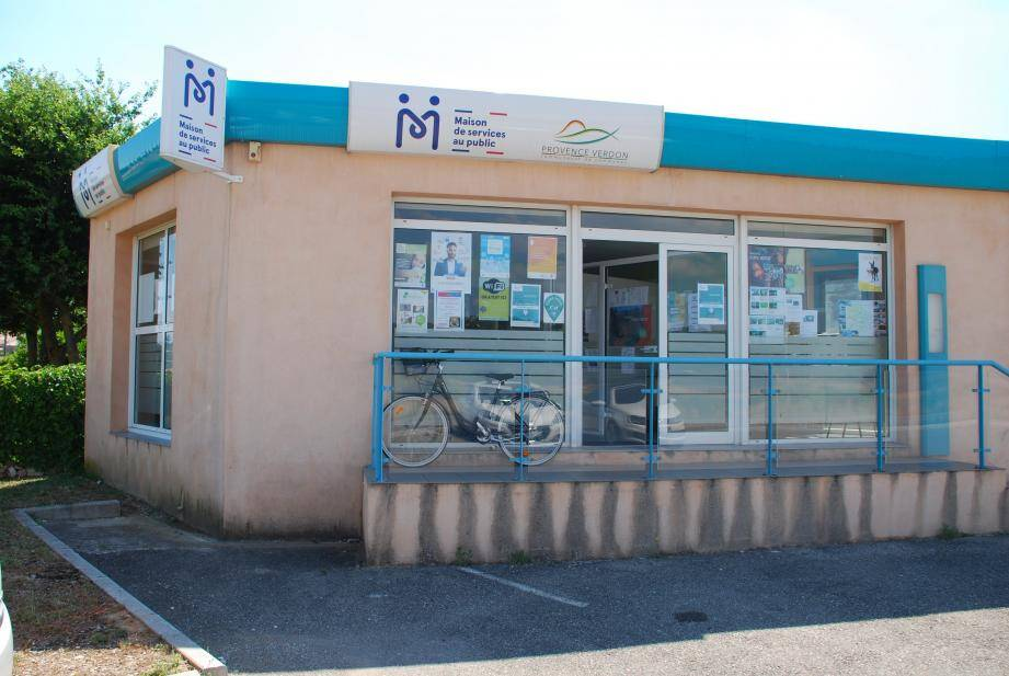 Les locaux de la maison de services au public, situés à côté de Carrefour et du Crédit Agricole.