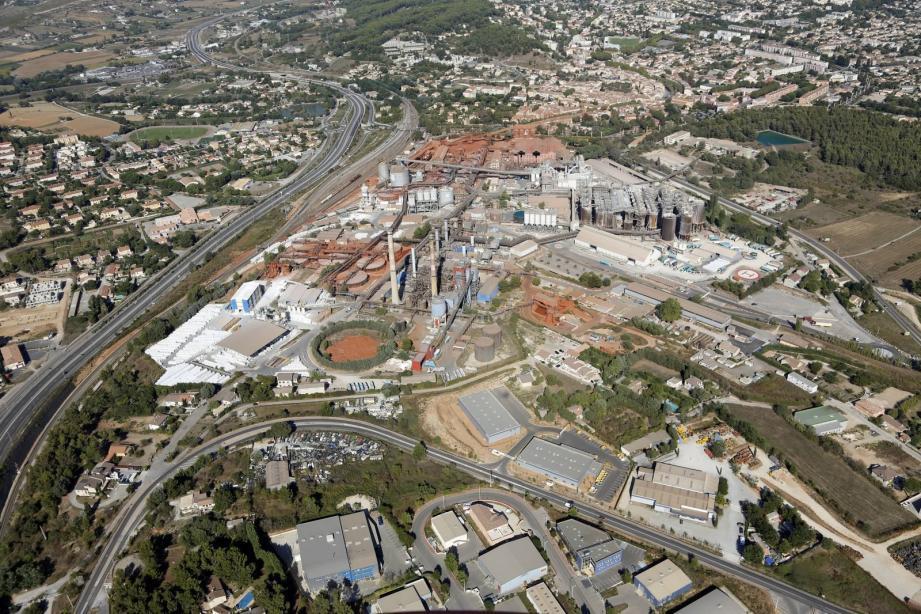 Parmi les sites industriels que les touristes pourront découvrir, l'usine « Altéo Alumina ».