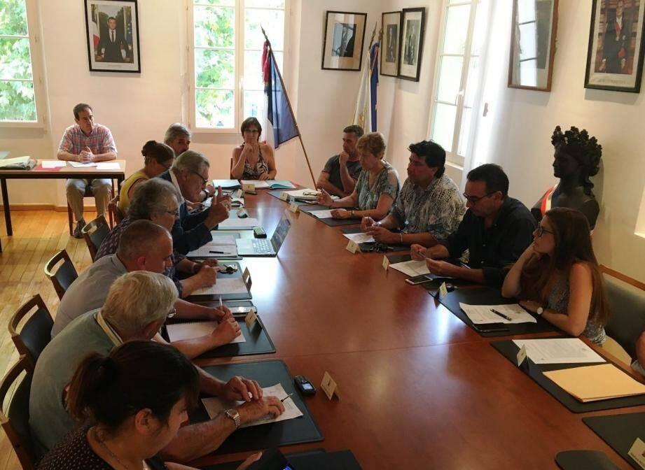 Le conseil municipal s'est réuni pour la dernière séance de l'été.