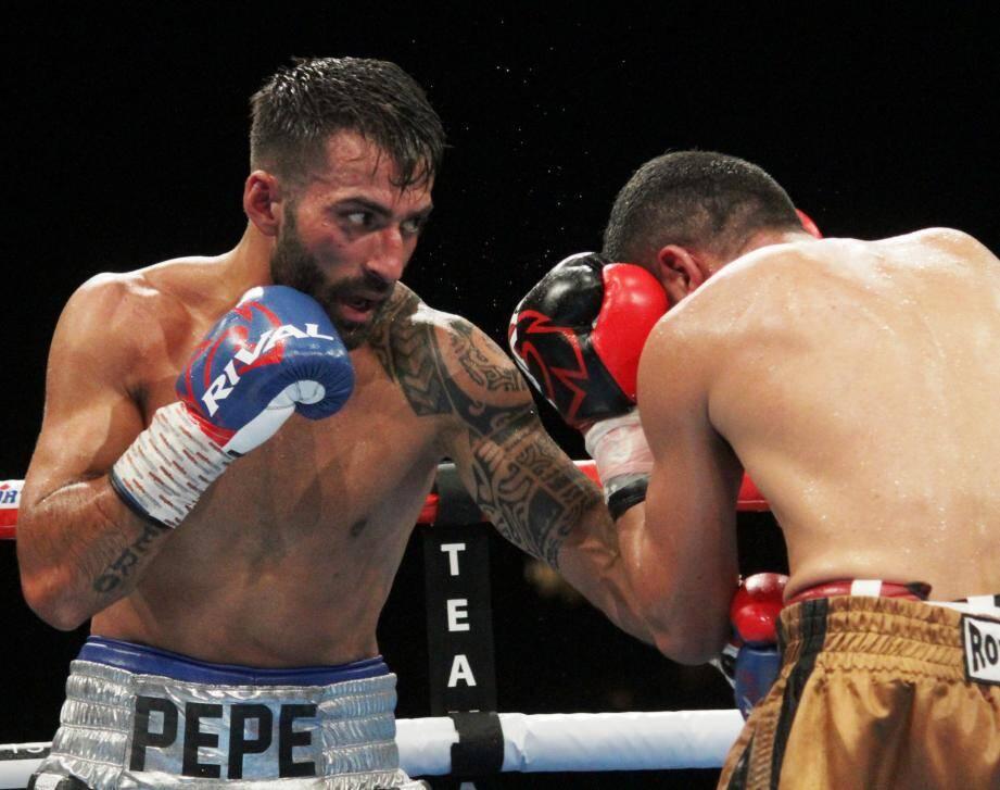 Pepe Gomez, vainqueur vraiment laborieux.