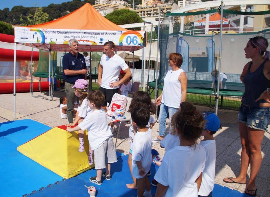 Les enfants et adolescents de 4 à 14 ans sont attendus sur l'Amphithéâtre de la mer pour une journée sportive !